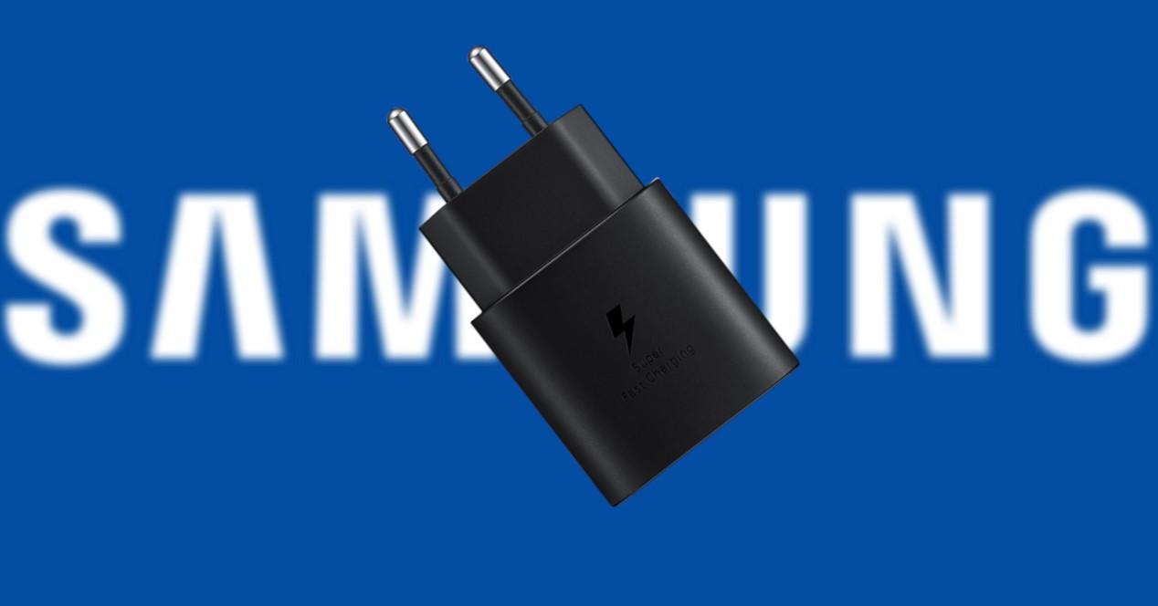 samsung logo y cargador
