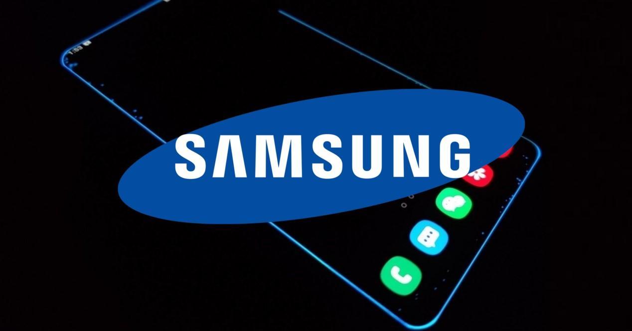 samsung pantalla edge y logo