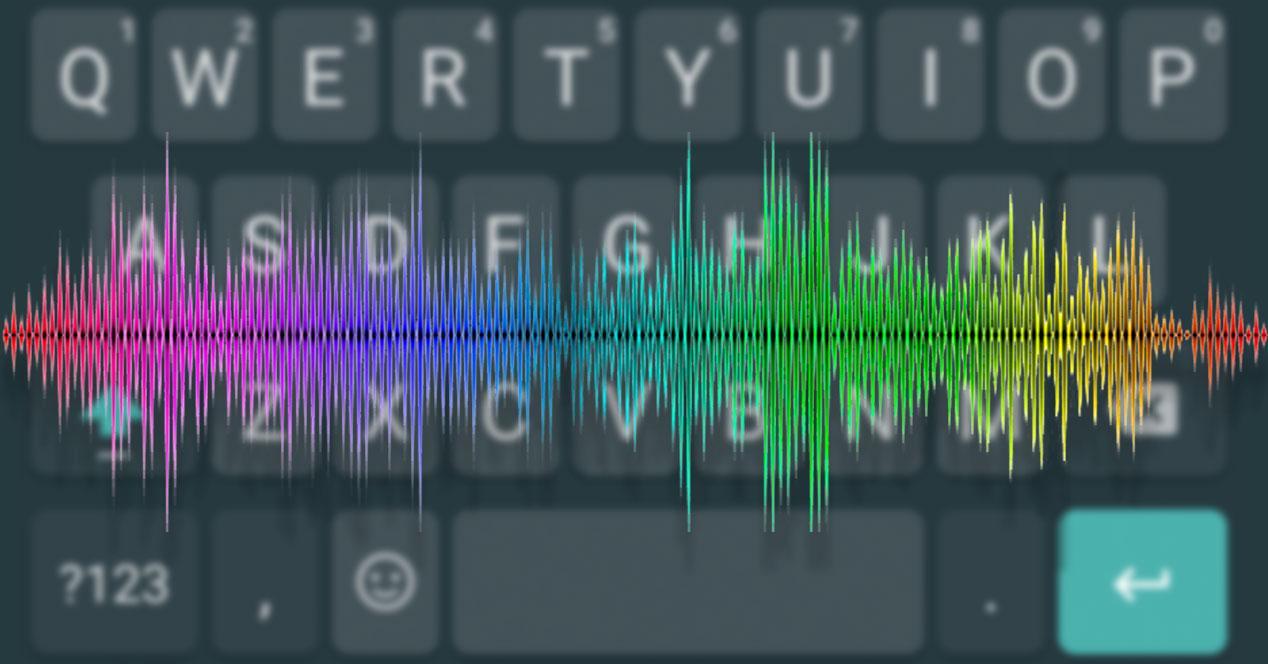 sonido teclado
