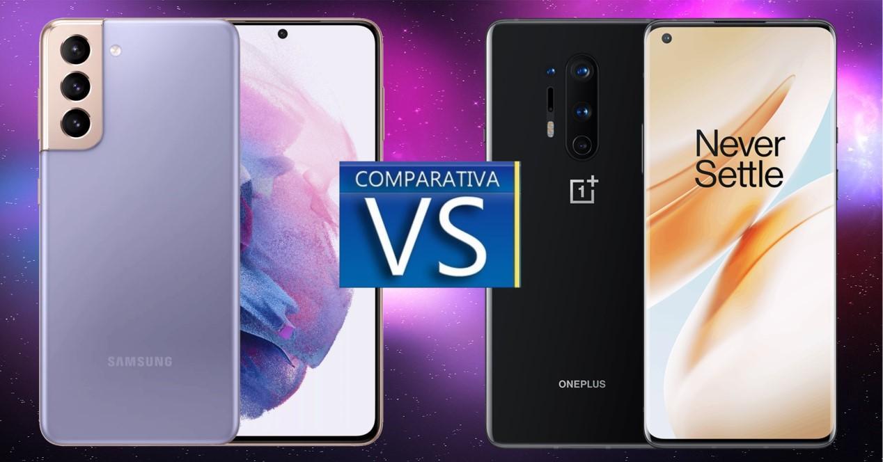 Galaxy S21 vs OnePlus 8 Pro