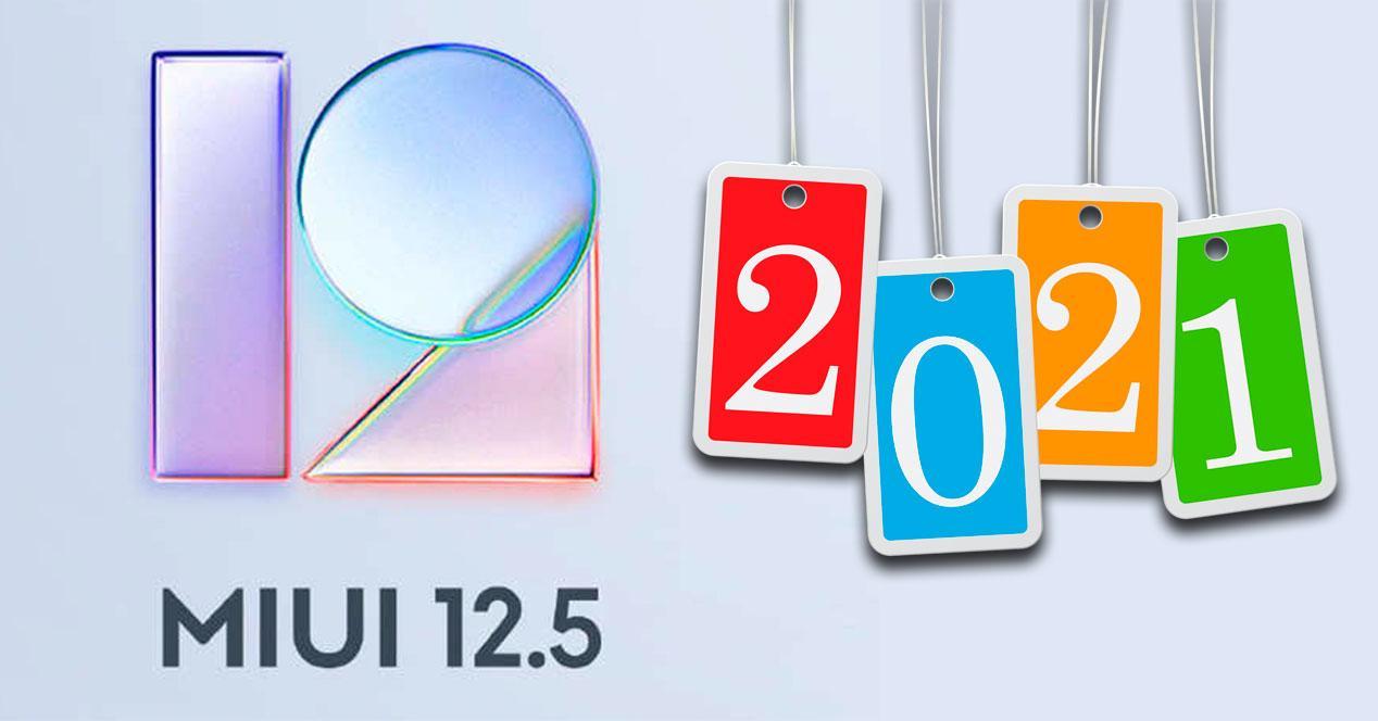 MIUI 12.5 2021