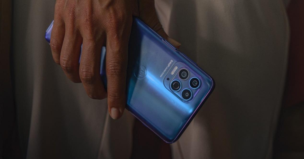 Motorola G100 azul