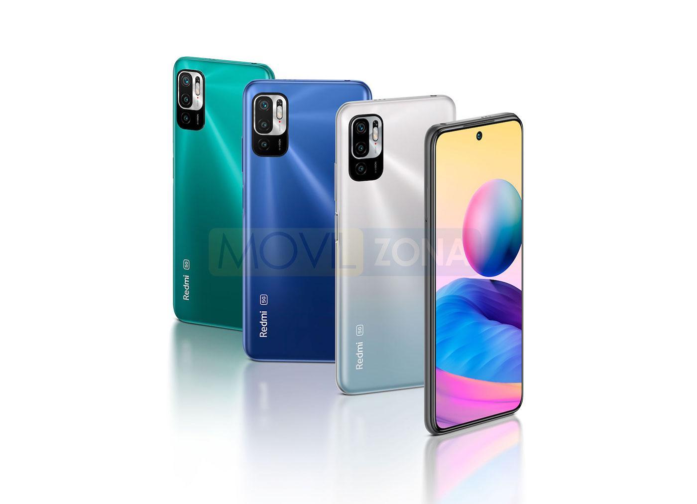 Redmi Note 10 5G colores