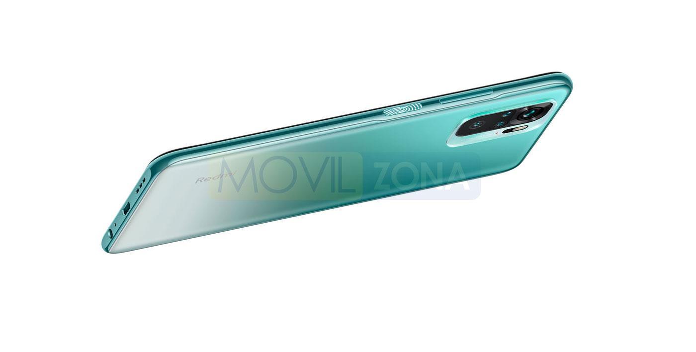 Redmi Note 10 verde