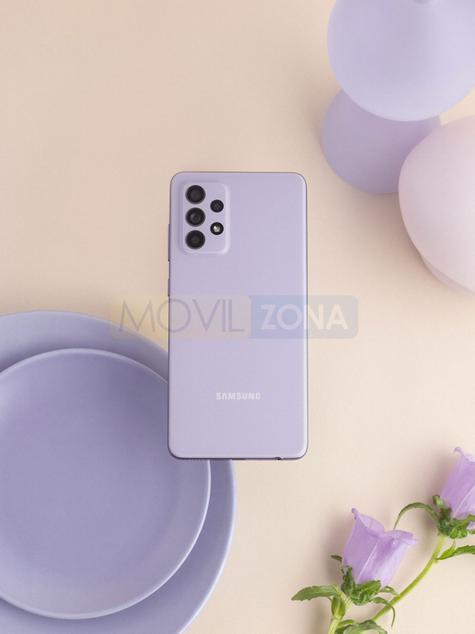 Samsung Galaxy A52 malva