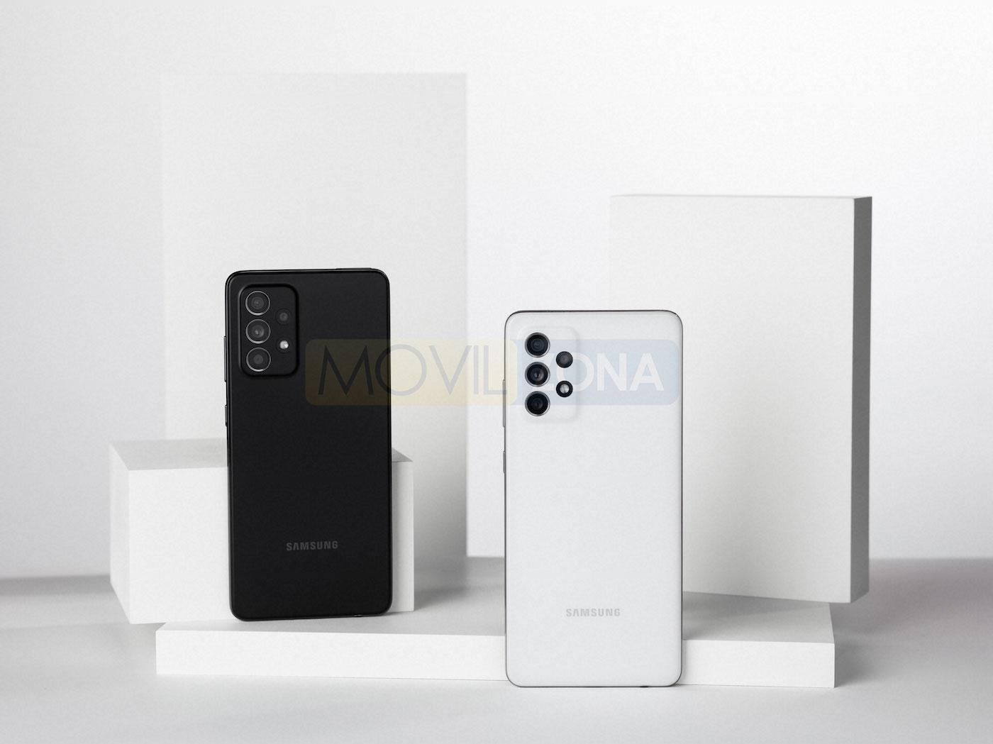 Samsung Galaxy a72 colores