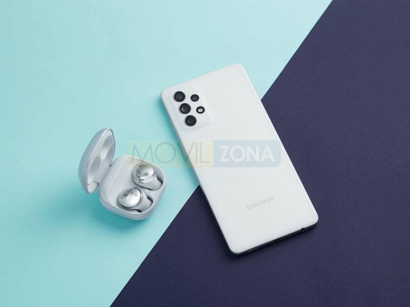 Samsung Galaxy a72 blanco