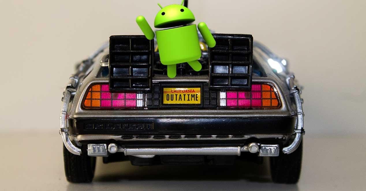 instalar versión anterior Android