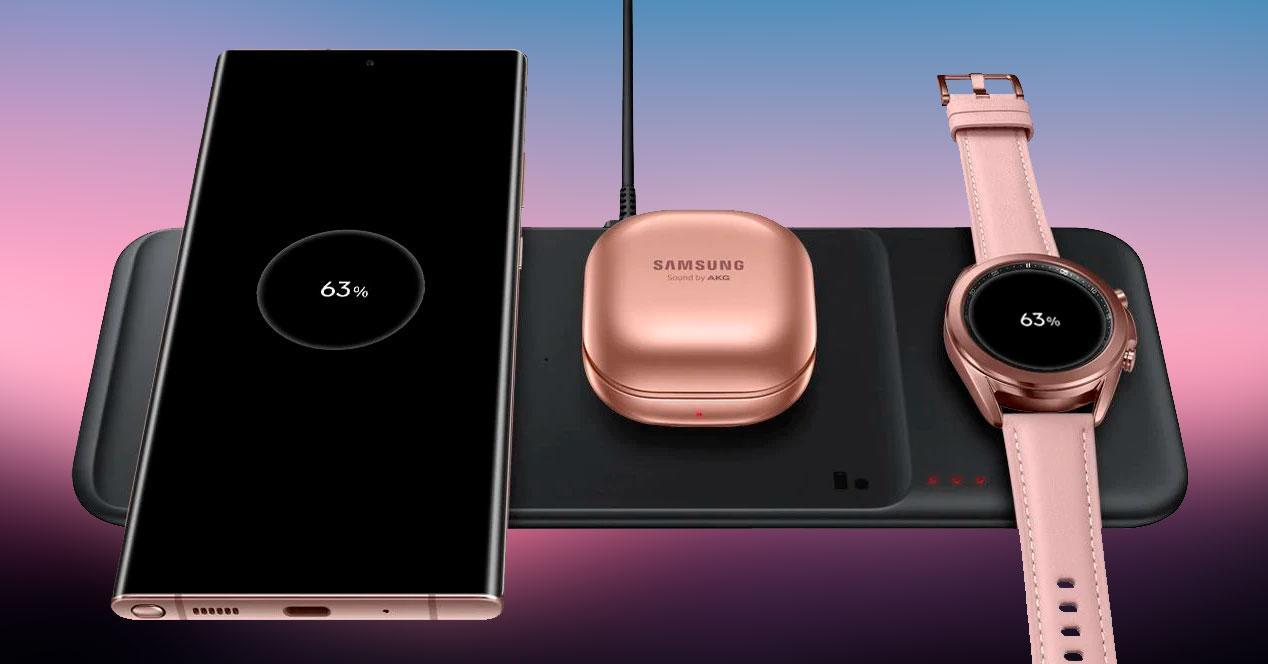 carga rápida inalámbrica Samsung