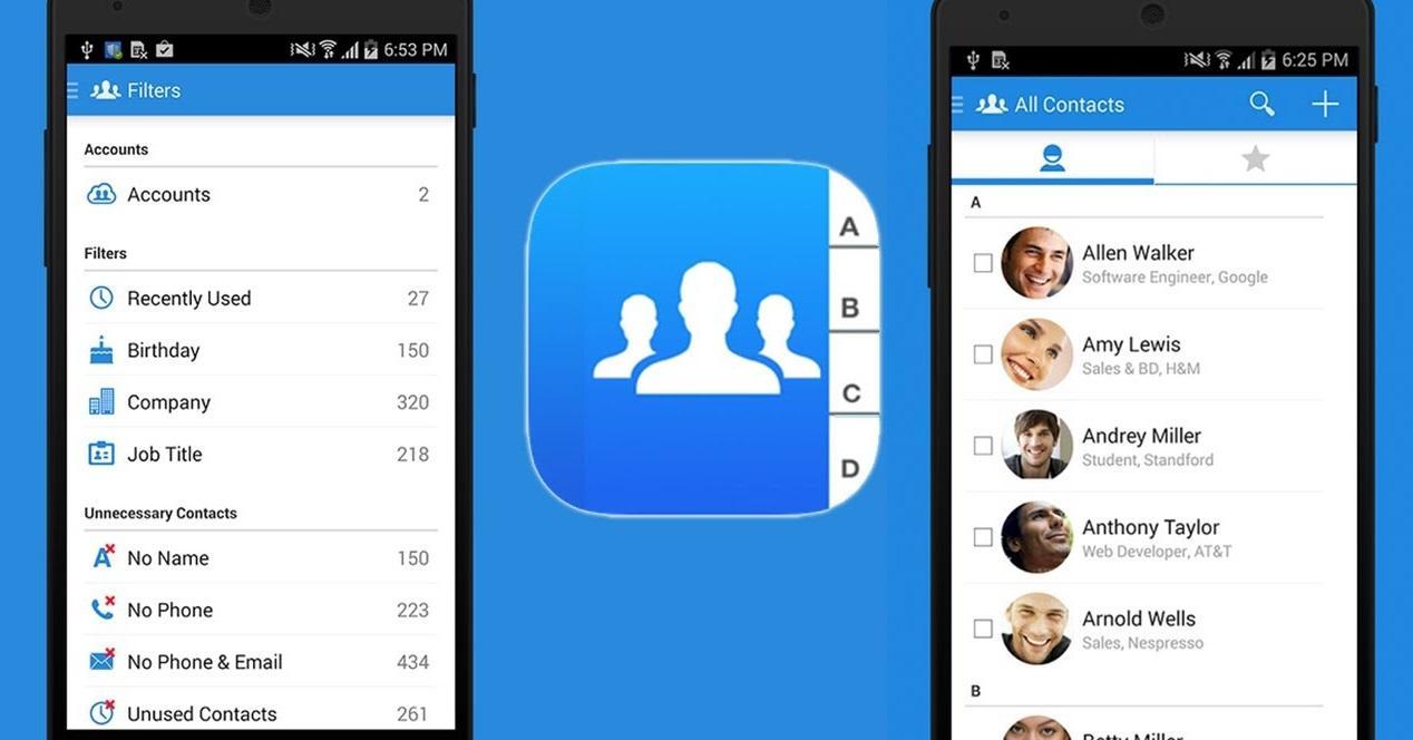 contactos en android