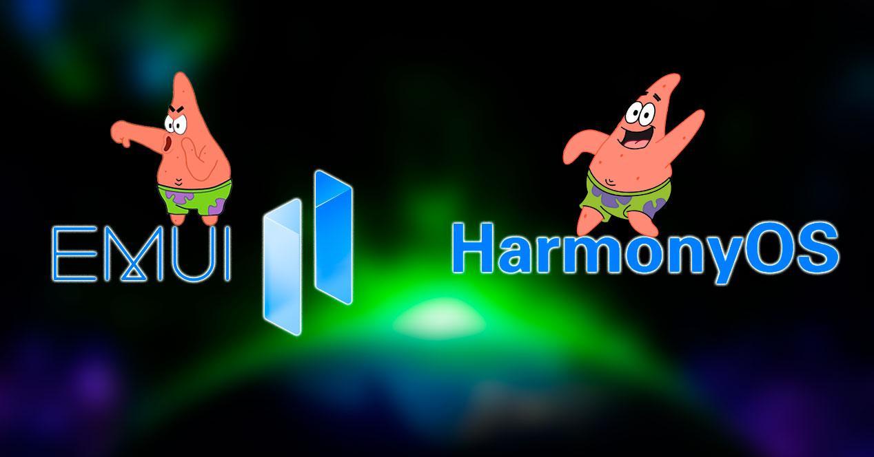 huawei emui 11 HarmonyOS