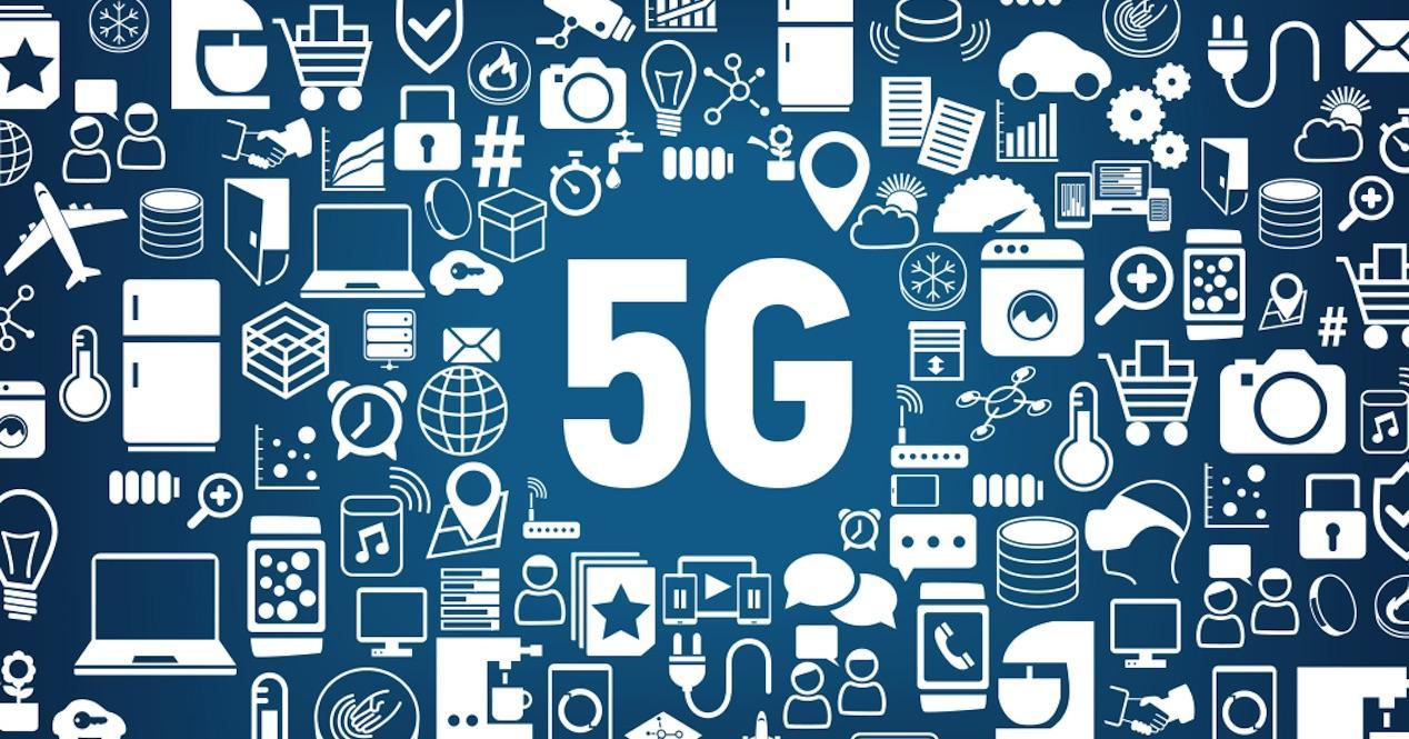 iconos 5G
