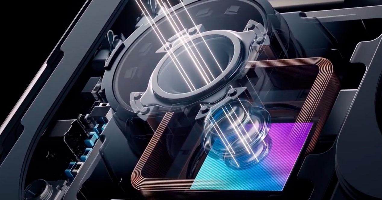 lente liquida Xiaomi Mi Mix teaser
