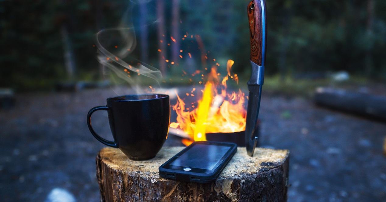 movil irrompible al fuego