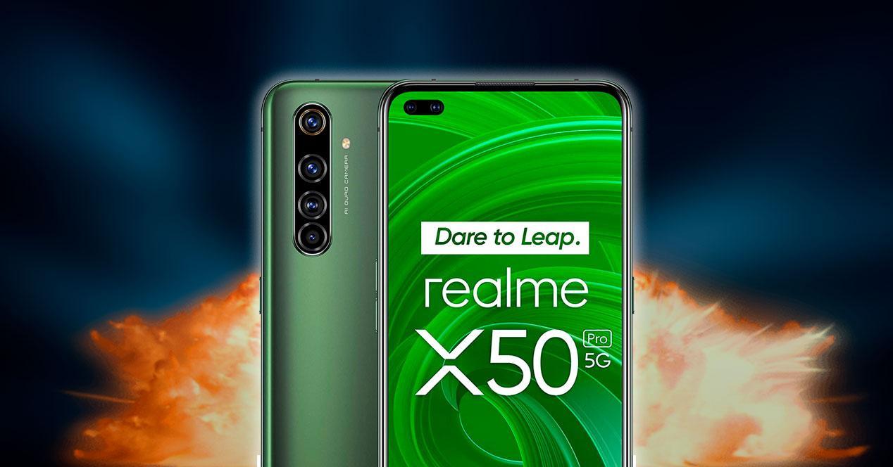 oferta realme x50 pro