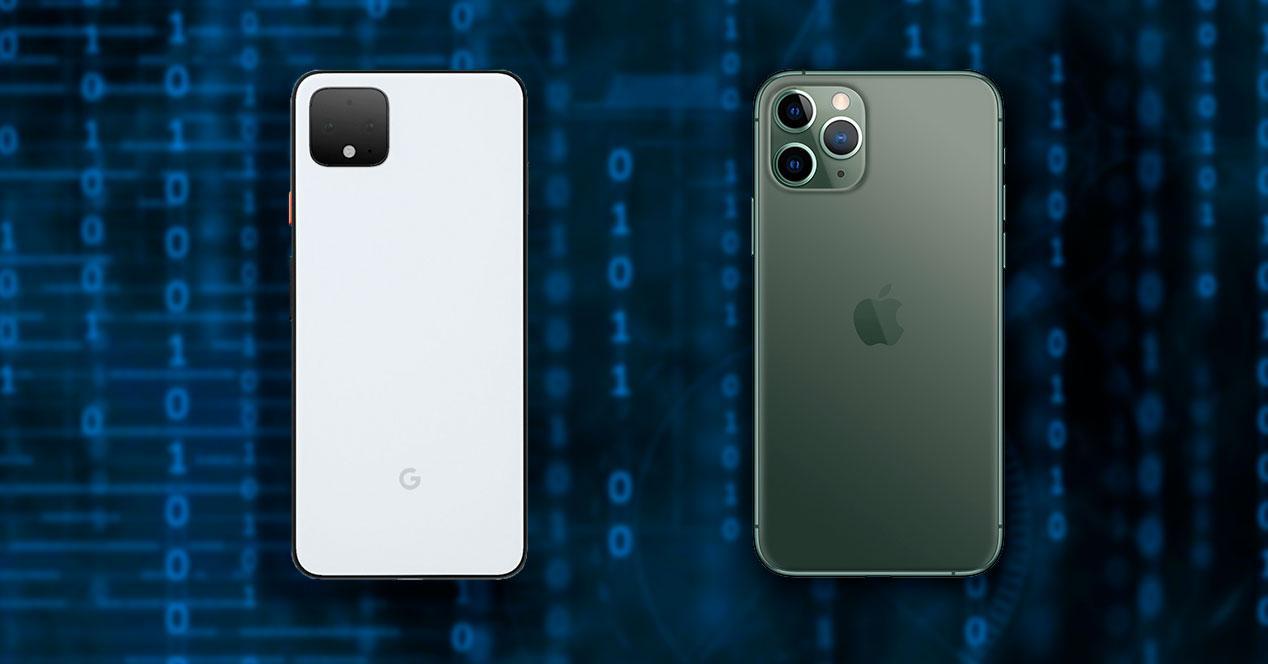recopilar datos móviles android iPhone