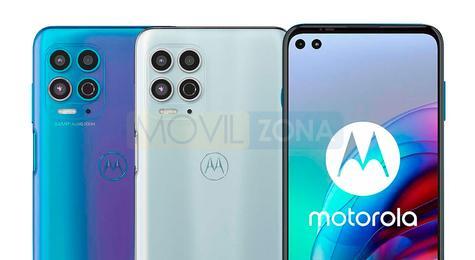 Moto G100 cámaras y pantalla