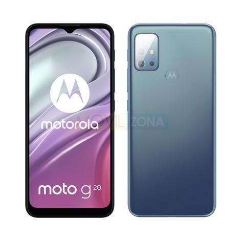 Moto G20 diseño