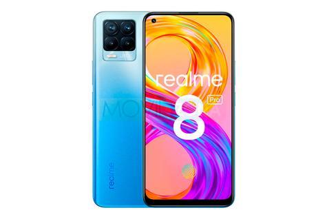 Relame 8 Pro diseño azul