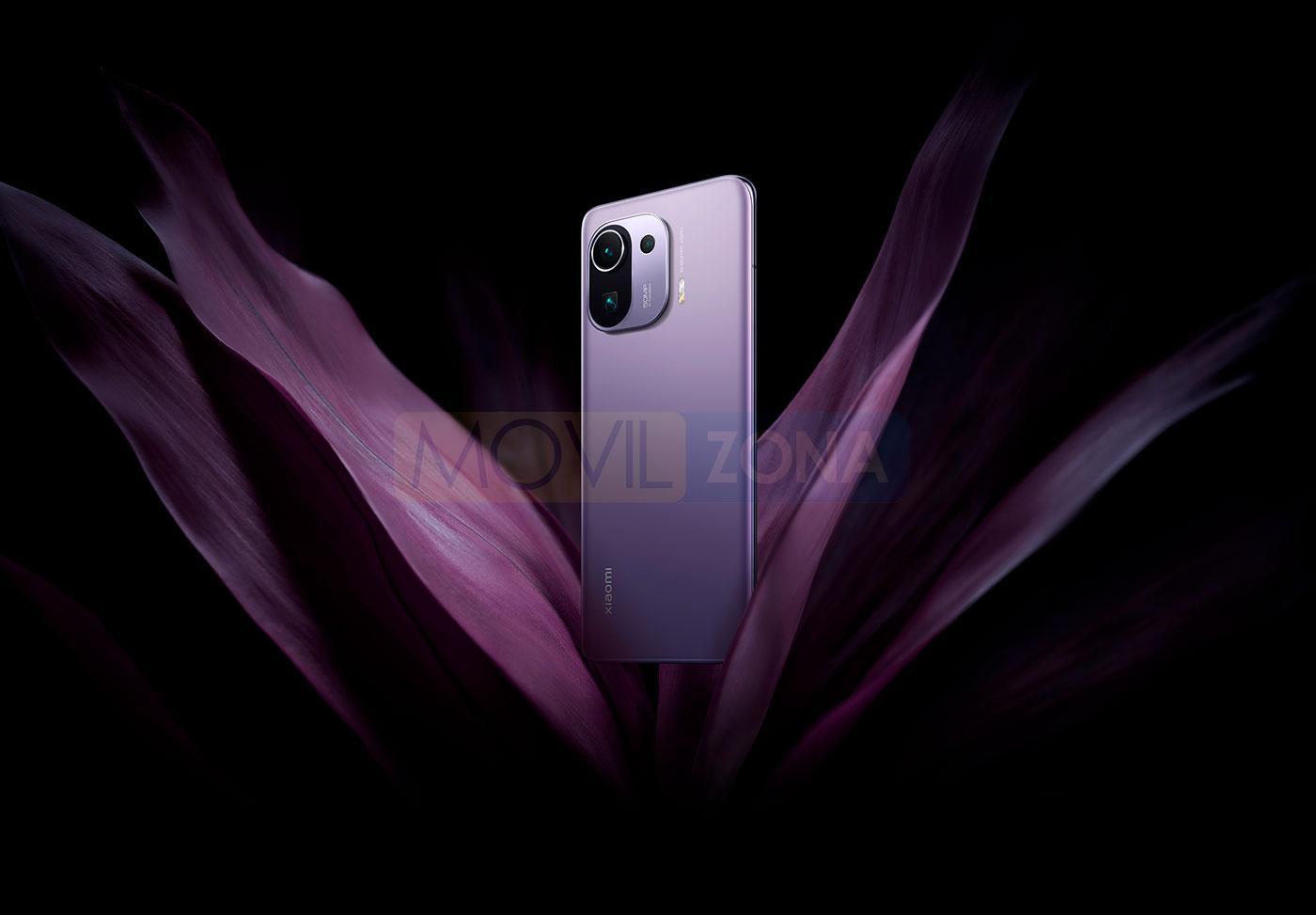 Xiaomi Mi 11 Pro violeta
