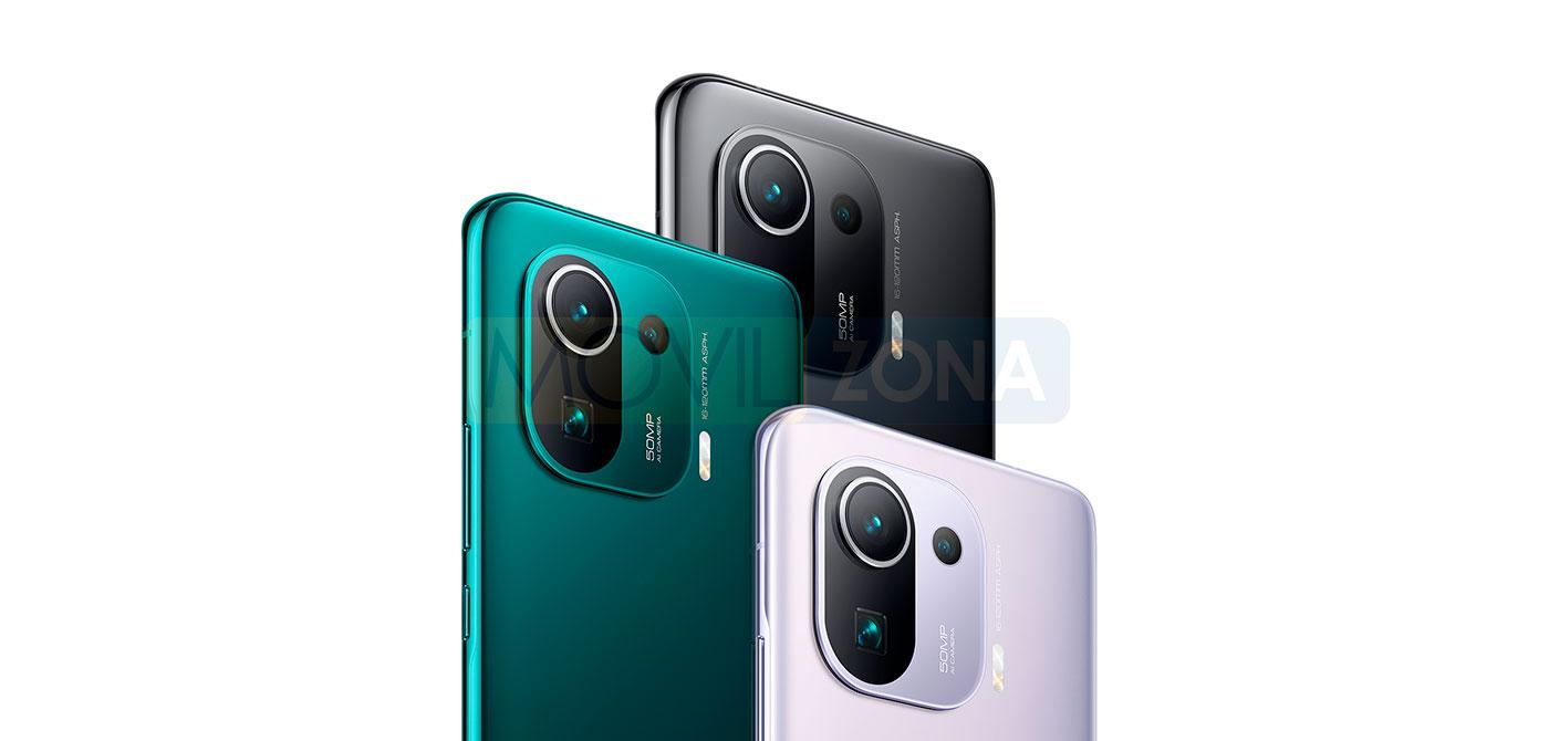 Xiaomi Mi 11 Pro colores