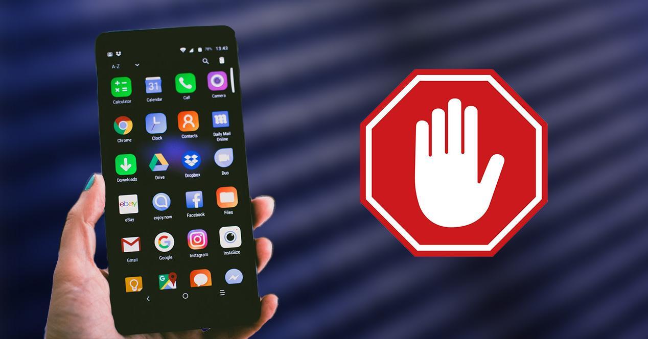 Activar o desactivar ventanas emergentes en el móvil