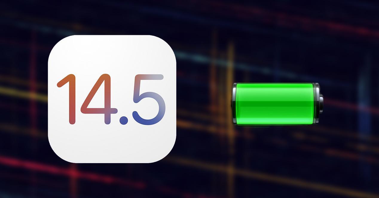 iOS 14.5 batería Apple