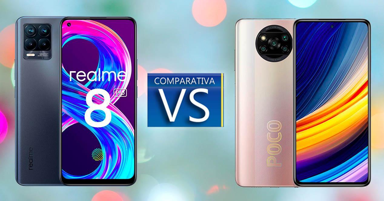 Realme 8 Pro vs Poco X3 Pro