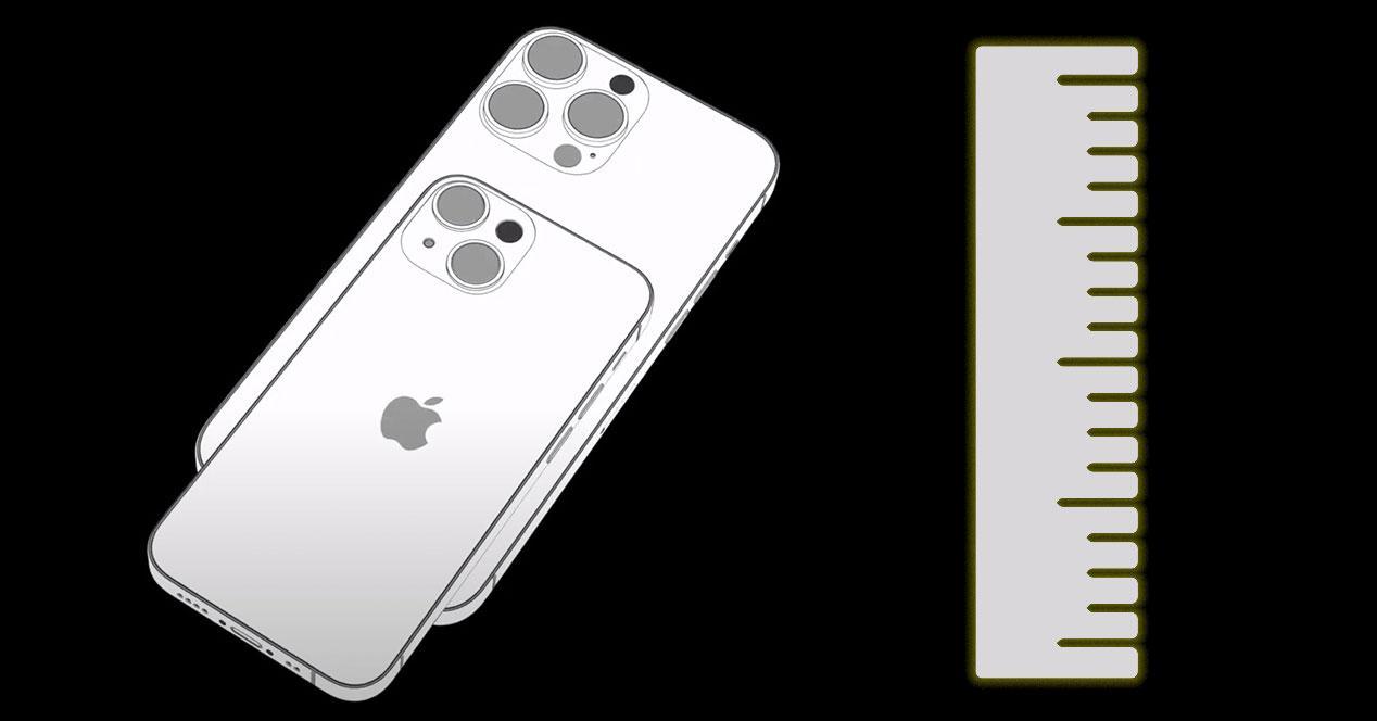 dimensiones iPhone 13