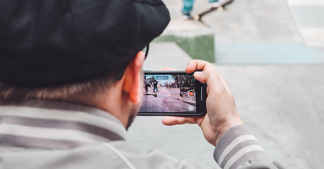 Grabar a cámara rápida con el móvil