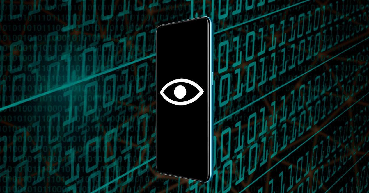 red internet seguridad movil control espiar