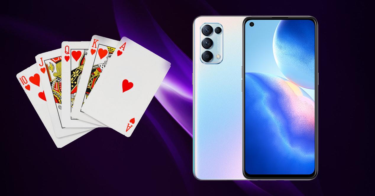 cartas poker OPPO