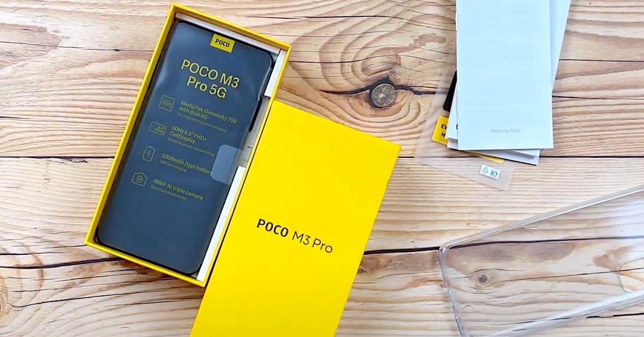 Unboxing Poco M3 Pro