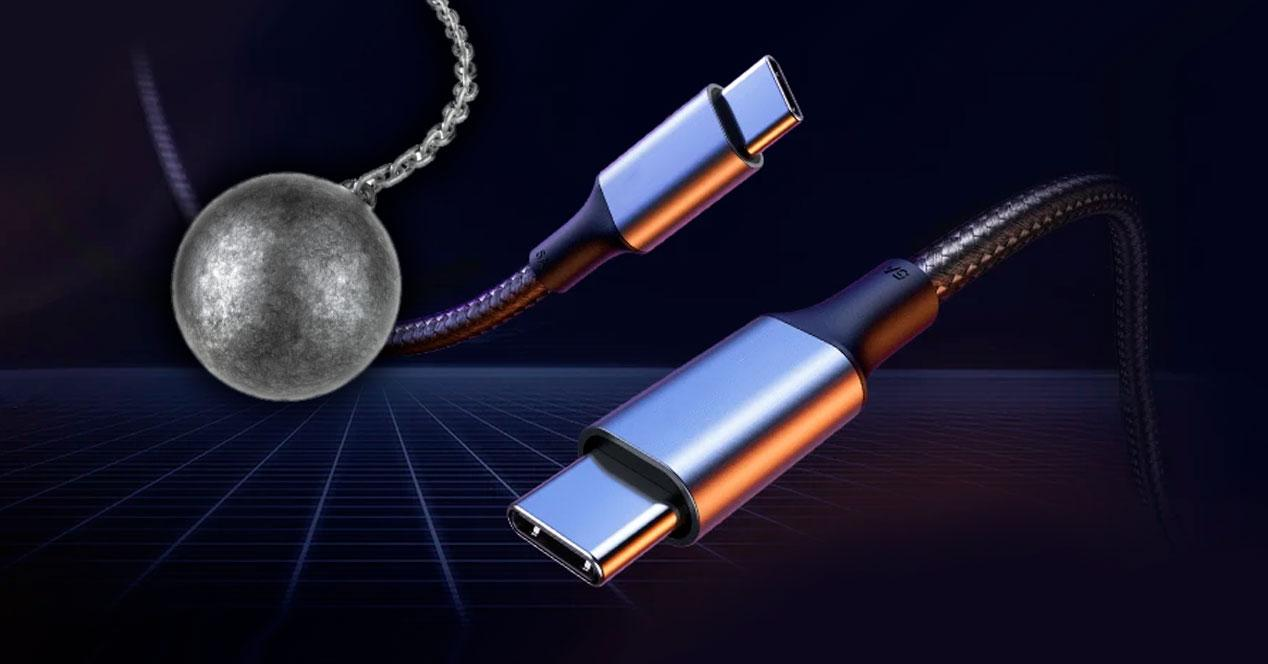 cables resistentes tipo C movil android