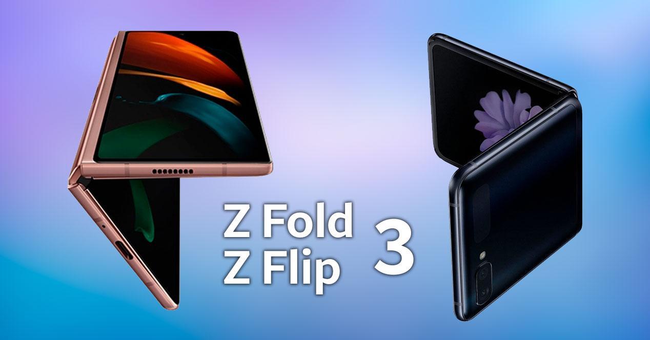 Galaxy Z Fold y Z Flip 3