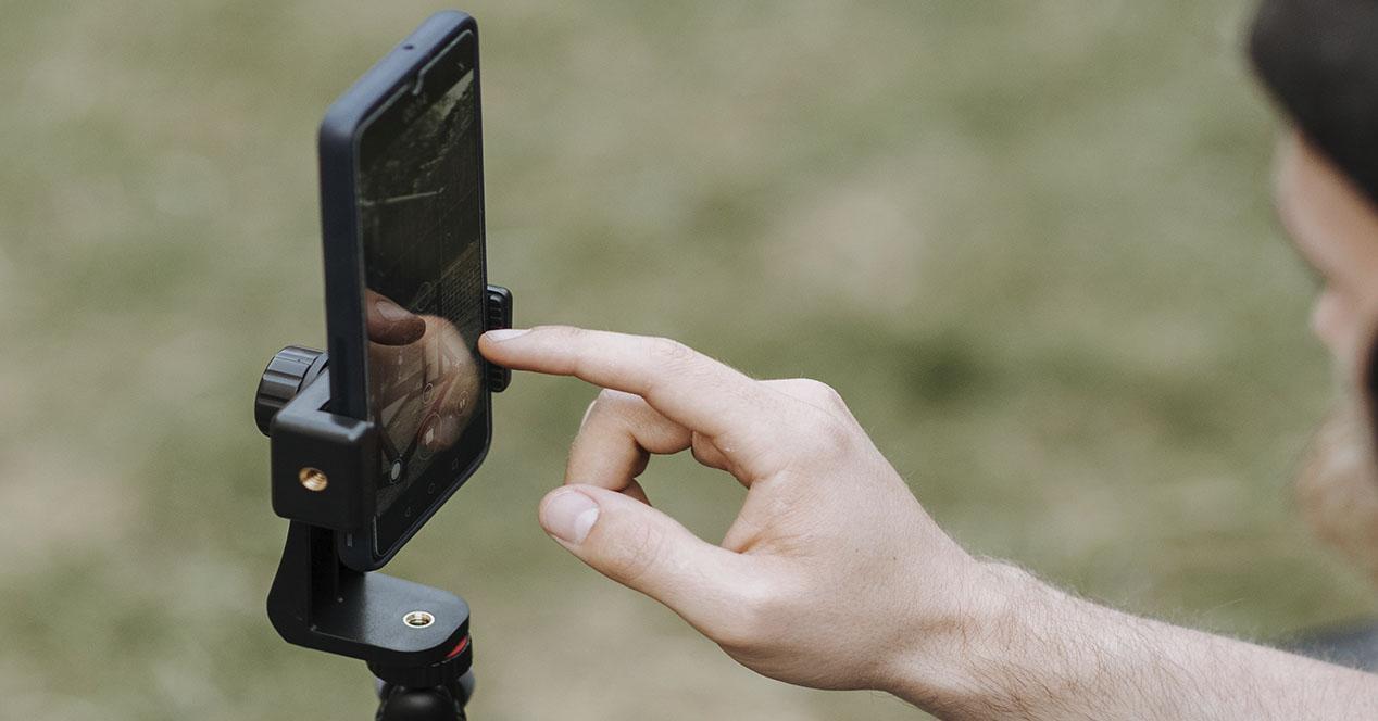Grabar vídeos con el móvil