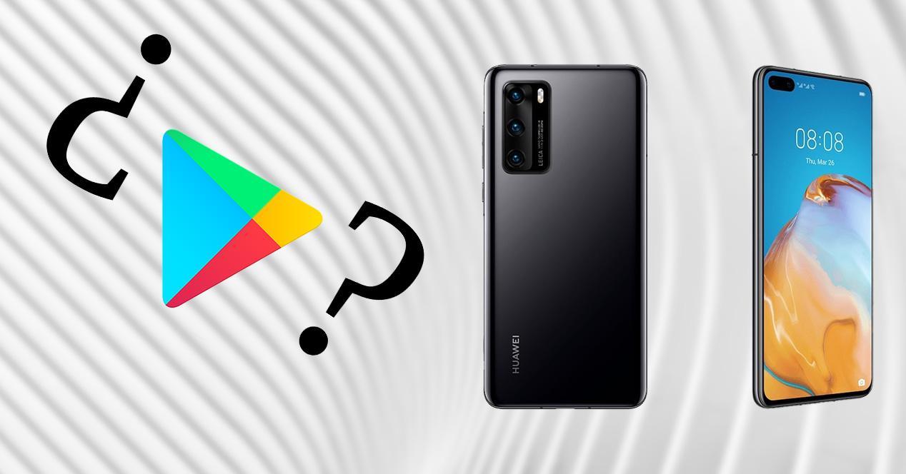 Huawei sin GMS