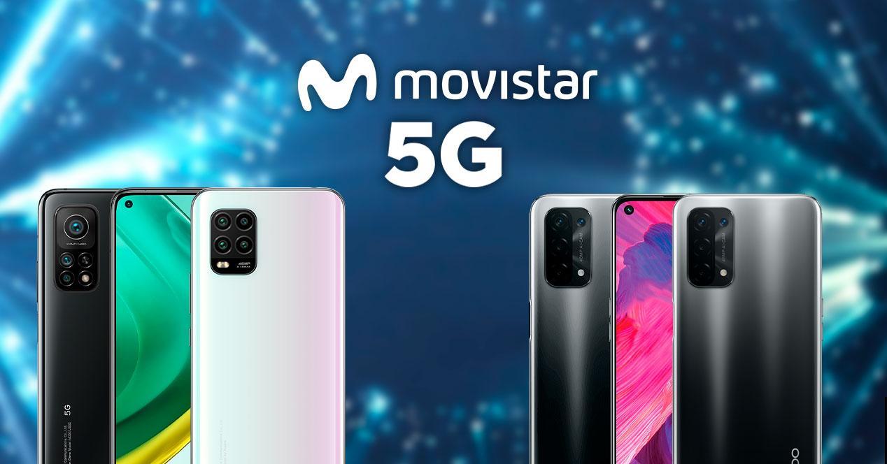 movistar moviles 5g oferta