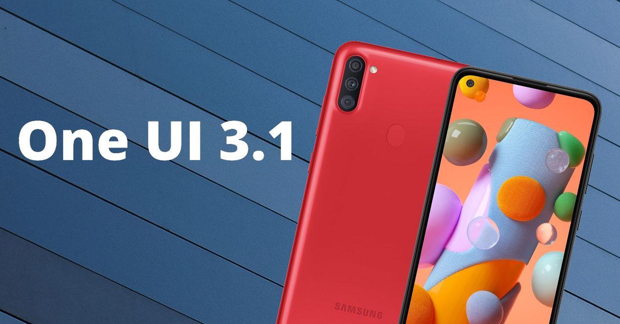 One UI 3.1 móviles Samsung