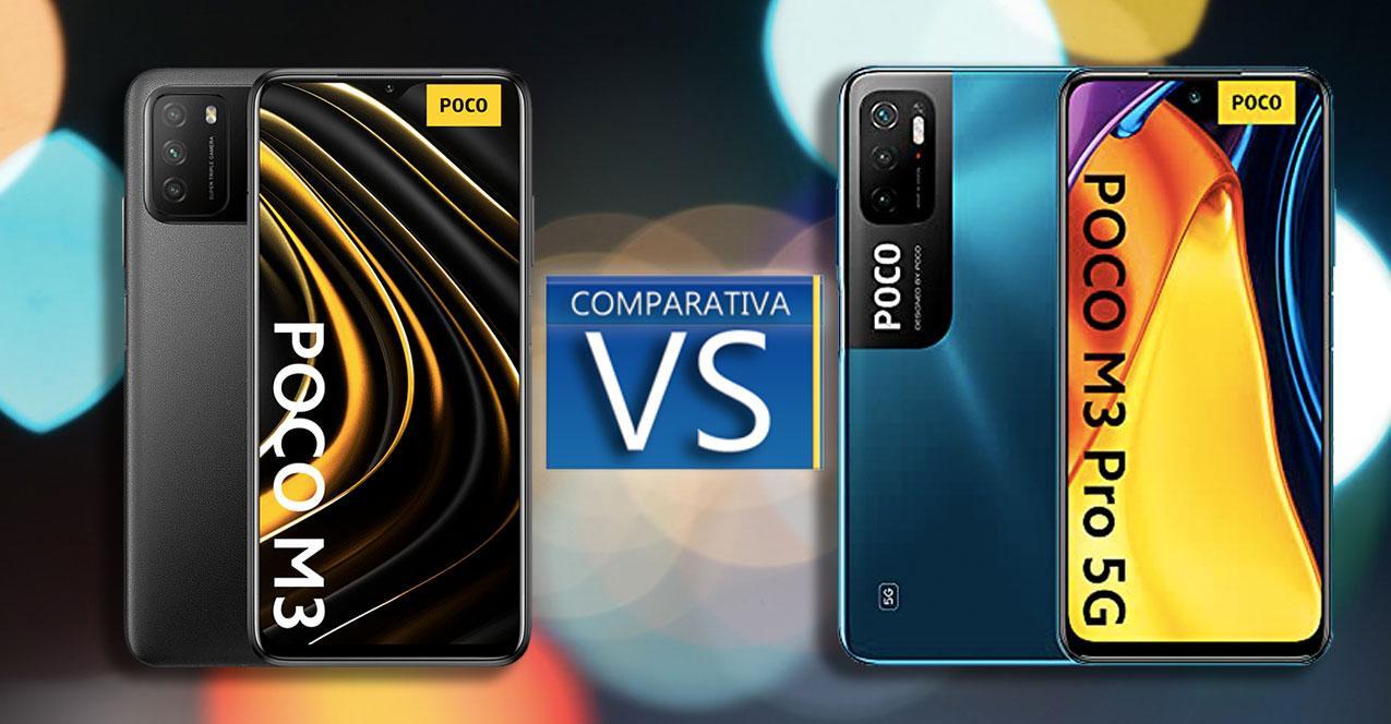 Poco M3 vs Poco M3 Pro