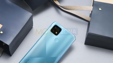 Realme C21 sensor huellas