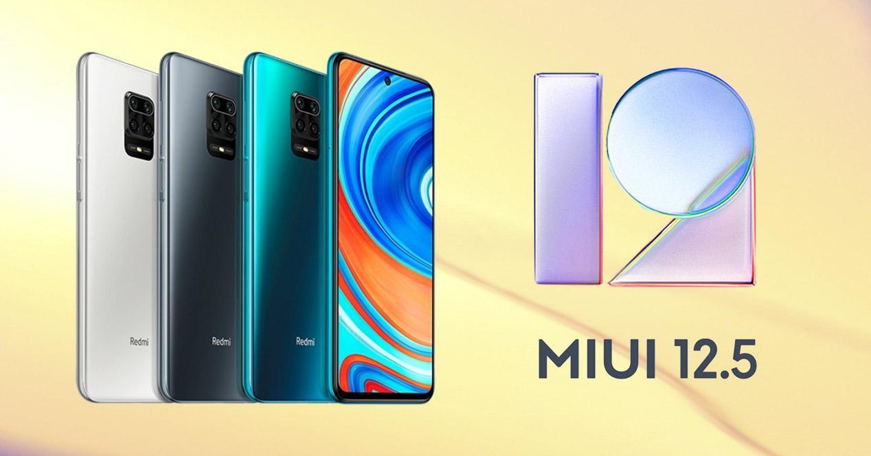 MIUI 12.5 Redmi Note 9