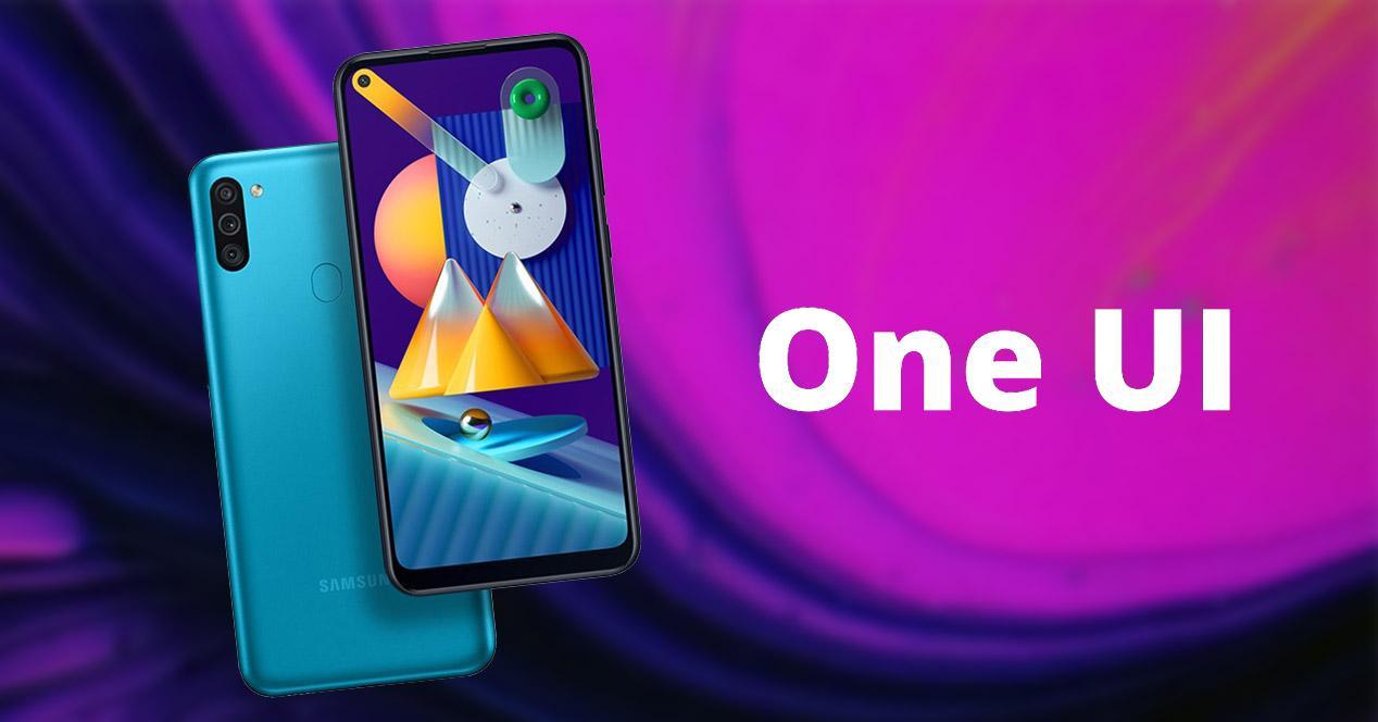Samsung Galaxy con One UI