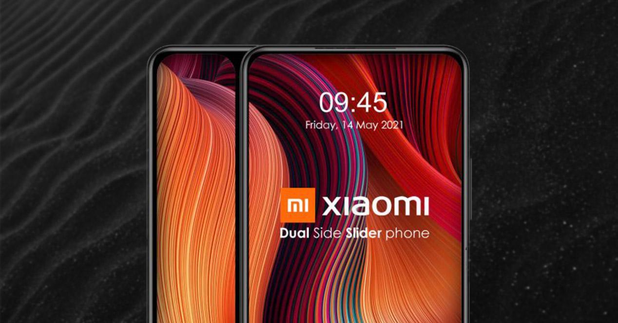 Móvil Xiaomi pantalla dual deslizante