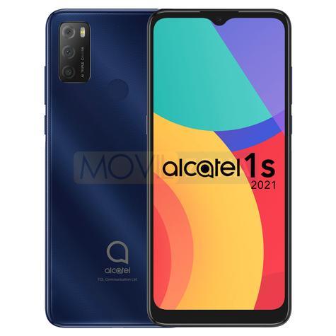 Alcatel 1s 2021 azul diseño