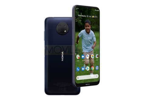 Nokia G10 diseño