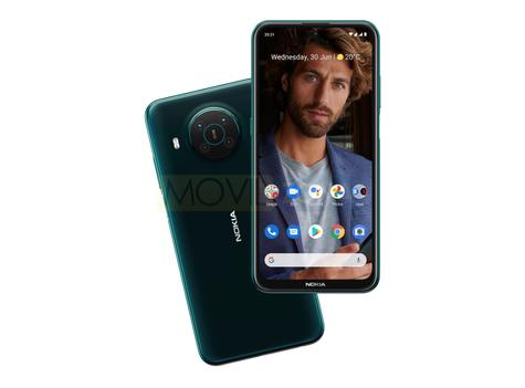 Nokia X10 diseño