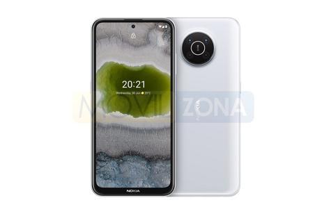 Nokia X10 blanco