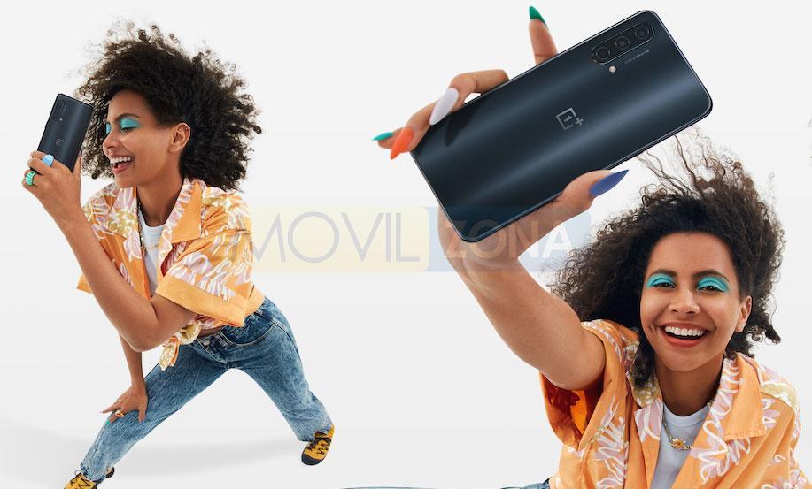 OnePlus Nord CE 5G en mano