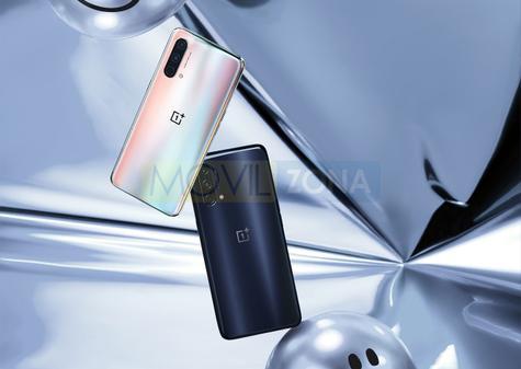 OnePlus Nord CE 5G blanco y negro